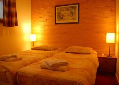 slaapkamer, appartement, portes du soleil